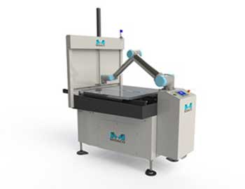 Automatic Pallet Changer with Robot Arm